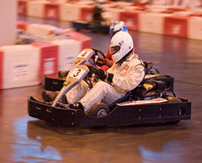 Go Karting Hen Party Activity