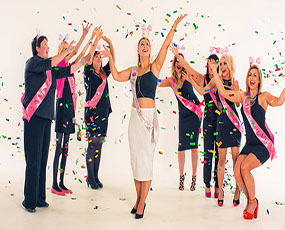 Makeover & Photoshoot Hen Party Activity