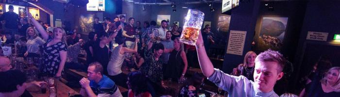 A Boozy Bierkeller Experience