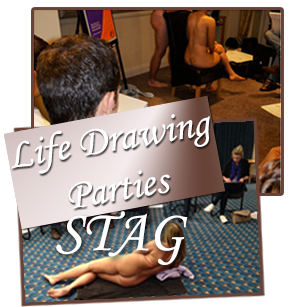 Life Drawing Stag Party Classes