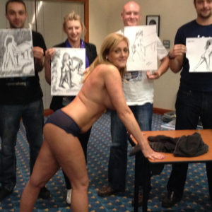 Stag Do Life Drawing Parties