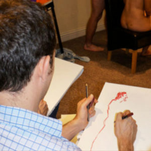 Stag Do Life Drawing