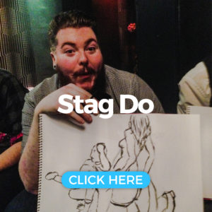 Stag Do Life Drawing in Newquay