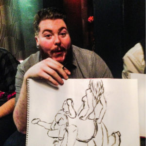 Stag Party Life Drawing